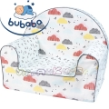 Bubaba Детски фотьойл Цветни облачета