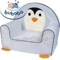 Bubaba Детски фотьойл животинче Пингвин
