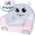 Bubaba Детски фотьойл животинче - Сладко котенце