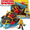 Fisher Price Imaginext Пирати Мега устата Акула DHH66