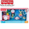 Fisher Price Комплект от 6бр. дрънкалки FBH63