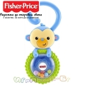 Fisher Price Бебешка дрънкалка маймунка DRC00
