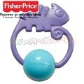 Fisher Price Бебешка дрънкалка хaмелеон FWH54