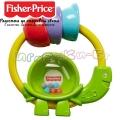 Fisher Price Бебешка дрънкалка костенурка FWH54