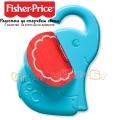 Fisher Price Бебешка дрънкалка слонче FWH54