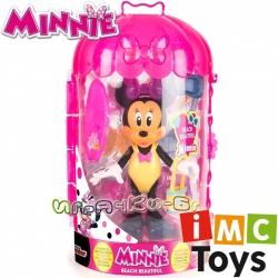 IMC Toys Minnie Mouse Deluxe Фигурка Мини Маус Beach Beautiful 182189