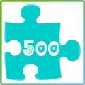 Пъзели до 500 части