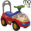 Moni - Кола за яздене Space Tolocar Red
