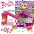 Barbie Мебели за кукла Барби - колибка с домашен любимец GRG78