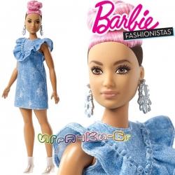 Barbie Fashionistas Кукла Барби Curvy with Pink Updo FJF55 Doll#95