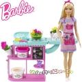 Barbie You Can Be Anything Игрален комплект Барби в магазин за цветя GTN58