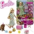 Barbie Игрален комплект Барби парти с кученца Puppy Party GXV75