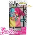 Barbie Рокля Миниони Fluffy с аксесоари за кукла Барби FND47