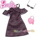 Barbie Рокля с аксесоари за кукла Барби FND47