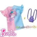 Barbie Тениска с аксесоари за кукла Барби FND47