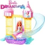 Barbie Dreamtopia Кукла Челси с пясъчен замък FXT20