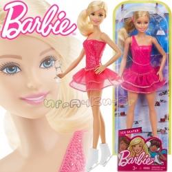 Barbie Careers Кукла Барби фигуристка FFR35
