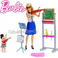 Barbie Careers Кукла Барби учителка по музика FXP18