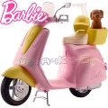 Barbie Скутер и кученце за Барби DVX56