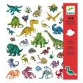 Djeco - Стикери Dinosaurus 160 броя DJ08843