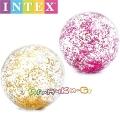 Intex Надуваема топка с брокат Transperent Glitter Асортимент 58070NP