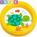 Intex Бебешки басейн Весели животинки Костенурка 59409