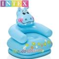 Intex Детски надуваем стол Хипопотамче 68556