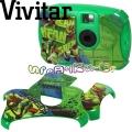 Vivitar Ninja Turtles Детски цифров фотоапарат със сменяеми панели 2.1 MP