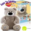 *Мечето Лу Интерактивна плюшена играчка на български език Grey Bear 20020