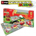 Bburago - Писта/килим с 2 броя колички Ferrari Kids 18-31279