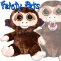 Feisty Pets Плюшена играчка Маймунка 32332006