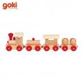 Goki 55995 Дървено влакче с магнити