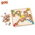 Goki - Дървена игра 56979 Състезание с Мишки и Котки
