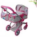 ****Moni Комбинирана количка за кукли Pink Rose 9651B