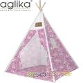 Aglika Детска палатка за игра Типи Еднорог розов