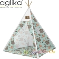 Aglika Детска палатка за игра Типи Мечки индианци