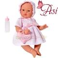 Asi Кукла бебе Коке с розова рокля и чантичка 0403530
