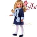 Asi Кукла Силия с рокля с флорални мотиви 0163310