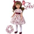 Asi Кукла Силия с рокля на цветя 0163930