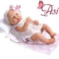 Asi Кукла бебе Лучия с розова панделка 0323950