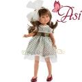 Asi Кукла Силия с рокля от тюл и голяма бяла панделка 0164090
