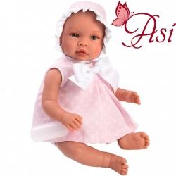 Asi Кукла бебе Лея с рокличка на бели звезди 0185250
