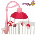 Музикална въртележка Дъга в розово А104406 Babymoov