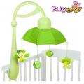 Музикална въртележка Дъга в зелено Babymoov А104404
