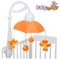 Музикална въртележка Дъга в оранжево Babymoov А104405