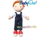 BabyОno Плюшена играчка Кукла Оливър 1097
