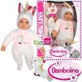 Bambolina Кукла меко тяло 41см. и играчка еднорог BD1873