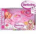 Bambolina Интерактивна говореща кукла с аксесоари 34см. BD348