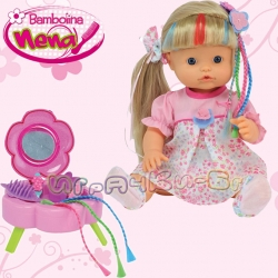 Bambolina Пишкаща кукла Нена BD344 Фризьорски салон