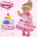 Bambolina Пишкаща кукла Nena на Рожден ден BD342